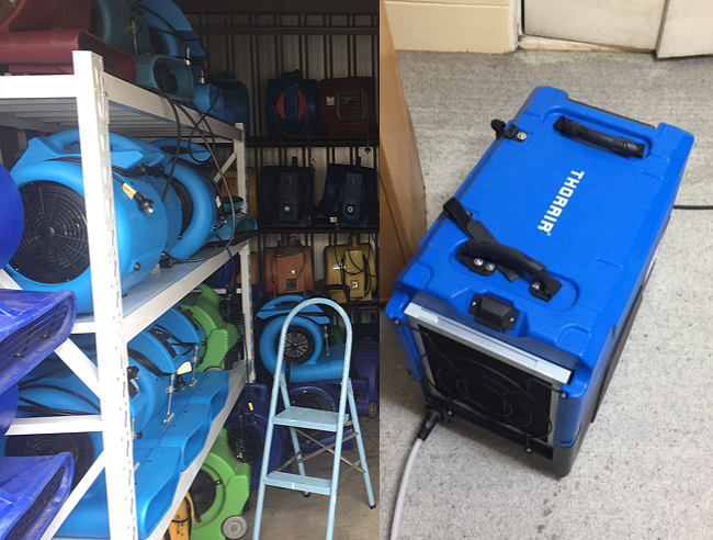 Hire carpet drying equipment in Sydney