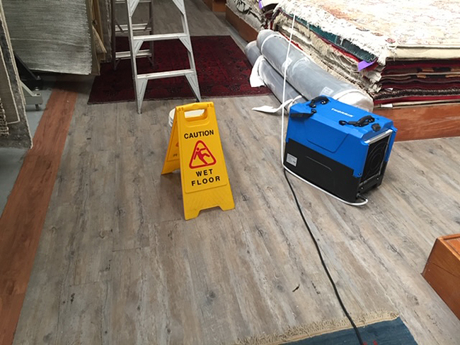 emergency drying wooden floors, dry hard floors after flooding in Sydney