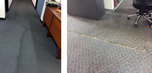 flooded office carpet repairs Sydney 2018