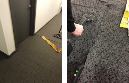 office carpet restretching Sydney
